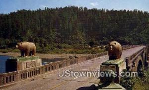 Bears, Klamath River Bridge