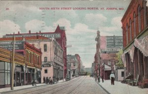 ST JOSEPH , Missouri , 1912 ; South Sixth Street