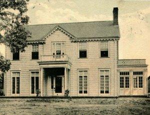Residence of C A Pippen Ozark Alabama AL 1937 Vtg Postcard Thomas 5 & 10 C Co