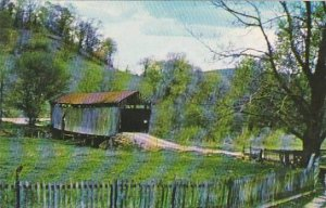 Covered Bridge A Rustic Setting In Noble County Vermont