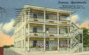 Frances Apartments Wildwood-by-the-Sea NJ 1957