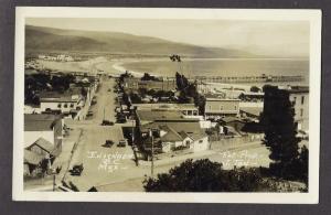 Ensenada Mexico View of Town Street Scene Tan 1930s RP