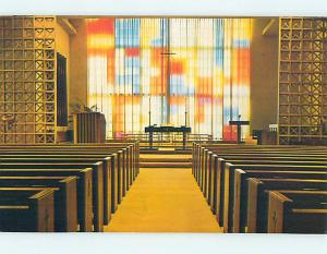 Unused Pre-1980 CHURCH SCENE New Albany Indiana IN L3289