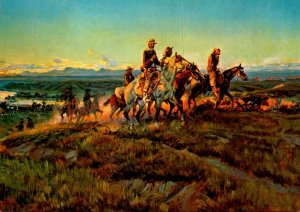 Men Of The Open Range By Charles Marion Russell
