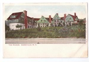 Asheville NC The Manor UDB J.H. Law c 1907