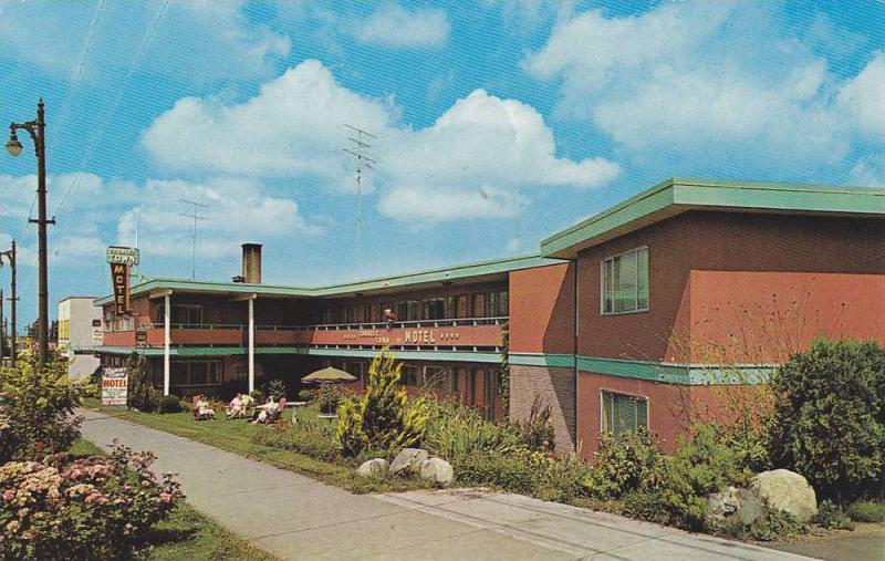 Exterior,  Tourist Town Motel,  Vancouver,   B.C.,  Canada,  40-60s