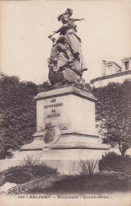 Monument Quand-Meme, Belfort (Territoire de Belfort), France, 1900-1910s