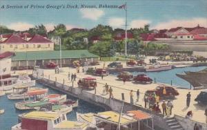 Section Of Prince George's Dock Nassau Bahamas