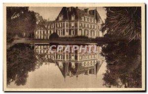 Old Postcard Alencon Chateau Le Chateau De Vervaine