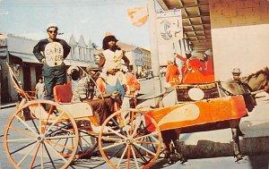 Antigua, West Indies Post card Old Vintage Antique Postcard Carnival Time St....