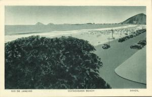 brazil, RIO DE JANEIRO, Copacabana Beach (1930s)