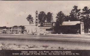 Florida Plymouth Vomac Groves Citrus Stand On U S Highway 441