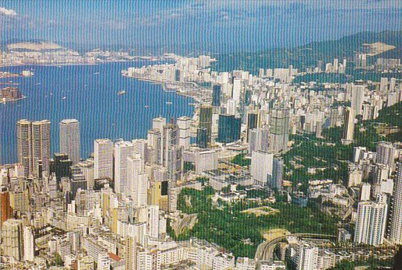 Hong Kong Central & Eastern Districts from the Peak