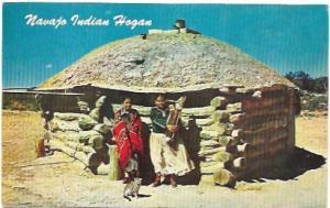 Navajo Indian Hogan.  Arizona and New Mexico