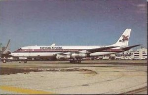 CAYMAN AIRWAYS McDONNELL DOUGLAS DC-8-52