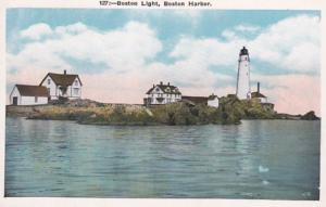 Massachusetts Boston Harbor Boston Lighthouse