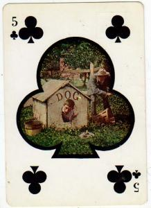 5 of Clubs - Dog House