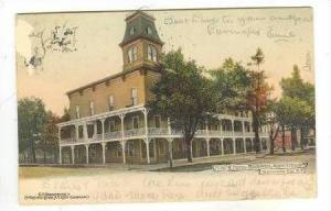 1539 Hotel Rockwell, Monticello, Sullivan Co., New York, PU-1907