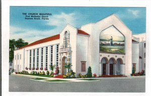 DAYTONA BEACH, Florida; The Church Beautiful, First Methodist Church, 30-40s
