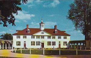 West Front Of Mount Vernon Virginia