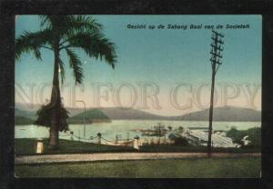 068835 HOLLAND INDIA INDONESIA Sabang Baai  Vintage PC