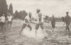 CAMP LEE, Virginia, 1910-20s; Bayonet Combat
