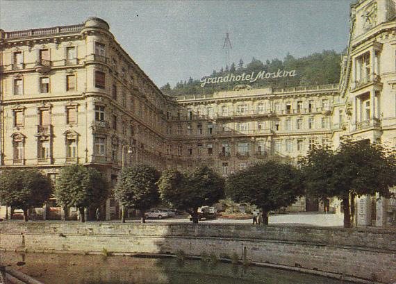 Czech Republic Karlovy Vary Grand Hotel Moskva