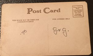 Early 1900's vintage photo postcard with poem by Austin, not posted