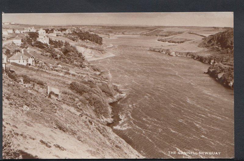 Cornwall Postcard - The Gannel, Newquay  DC684
