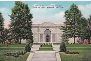 Tennessee Memphis Brooks Memorial Art Gallery Overton Park