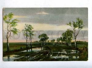 183646 RUSSIA Dobrovolsky great way Vintage EGSiS #99 postcard