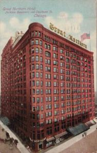 Illinois Chicago The Great Northern Hotel 1911