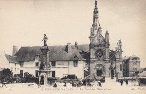 SAINTE-ANNE-D'AURAY, France,1910-1920s, La Fontaine Miraculeuse