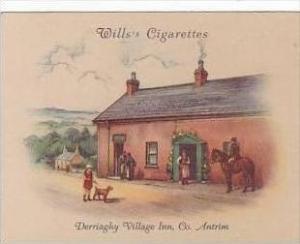 Wills Cigarette Card 2nd Series No 11 Derrriaghy Village Inn Antrim
