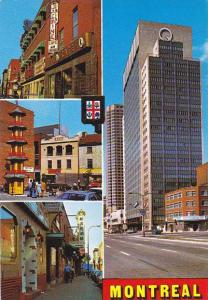 Canada Montreal General View Of Chinatown & Dorchester Boulevard Jasmine Cafe