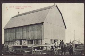 Fairview Farm,Oconto,WI Postcard