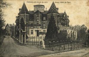 france, FORGES-LES-EAUX (76), Grand Hôtel du Parc (1910s)