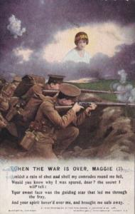 Bamforth Military When The War Is Over Maggie No 3