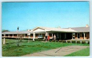 WILMINGTON, North Carolina NC~ Roadside EL BERTA MOTEL Restaurant 1960s Postcard