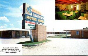 Louisiana Vidalia Shamrock Motor Hotel With Coffee Shop and Lounge