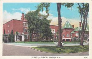 Exterior, The Capitol Theatre,Concord,New Hampshire,00-10s