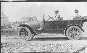 C-1910 Large Auto Proud Owner driver RPPC Photo Postcard 12885