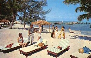 Bahamas Post card Old Vintage Antique Postcard Grand Bahama Hotel West End Un...