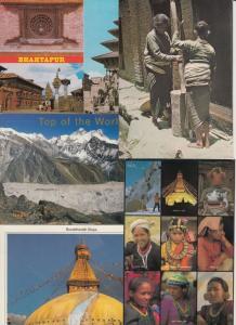 NÉPAL NEPAL 15 CPM (mostly 1980-2000) INCLUS VOYAGÉE