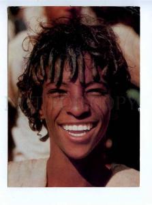 196048 Northwestern Ethiopia Beni Amer boy Old photo postcard