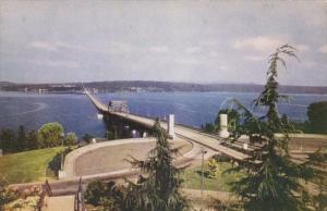 Washington Seattle Lake Washington Potoon Bridge