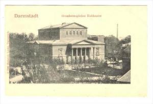 Grossherzogliches Hoftheater, Darmstadt (Hesse), Germany, 1900-1910s