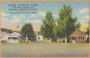 Colorado Springs, Colo., Davis Cottage Camp