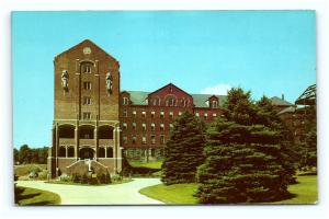 Postcard PA Westmoreland County St Vincent College Campus View G13