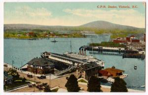 C.P.R. Docks, Victoria BC